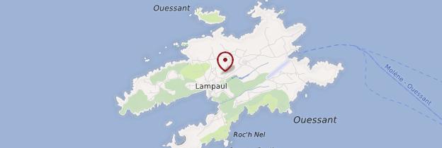 Carte Île d'Ouessant (Eusa) - Bretagne