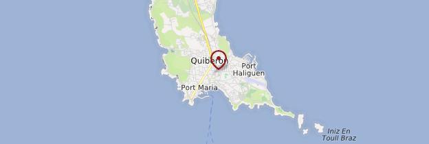 Carte Quiberon (Kiberen) - Bretagne
