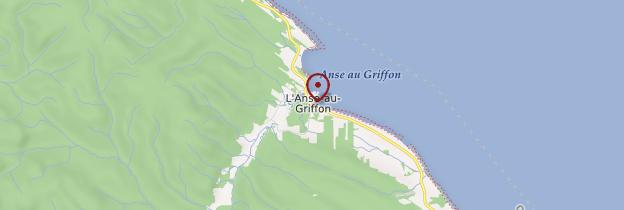 Carte Anse-au-Griffon - Québec