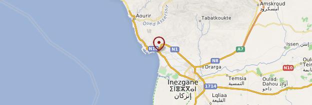 Carte Agadir - Maroc
