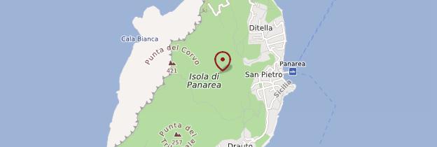 Carte Isola di Panarea - Sicile