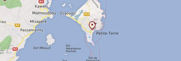 Carte Pamandzi - Mayotte