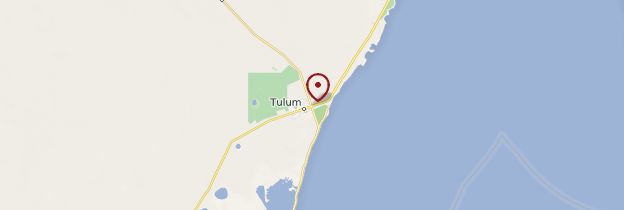 Carte Tulum - Mexique