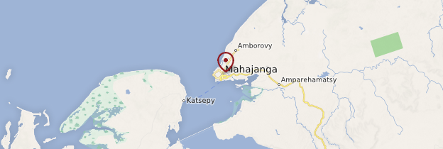 Carte Majunga (Mahajanga) - Madagascar