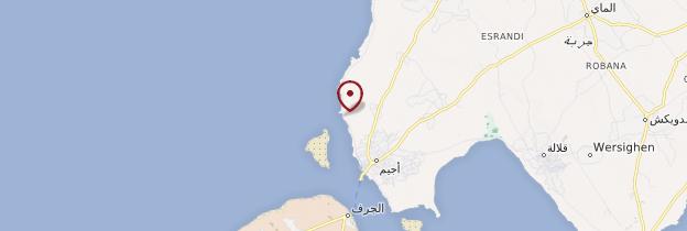 Carte Cheikh Yahia - Tunisie