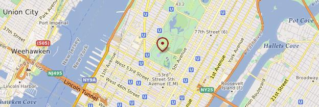 Carte Midtown - New York