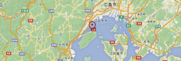Carte Miyajima - Japon