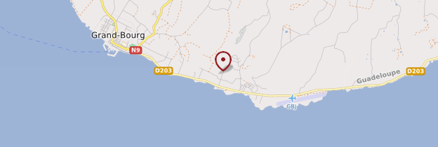 Carte Habitation Murat - Guadeloupe