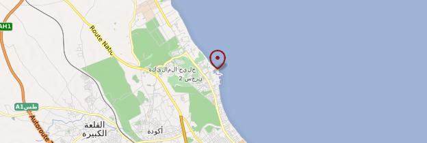 Carte Port-el-Kantaoui - Tunisie