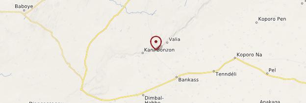 Carte Mosquée de Kani-Kombolé - Mali