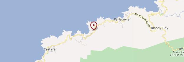 Carte Englishman's Bay - Trinité-et-Tobago