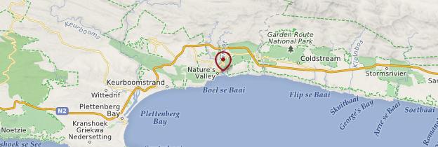 Carte Nature's Valley - Afrique du Sud