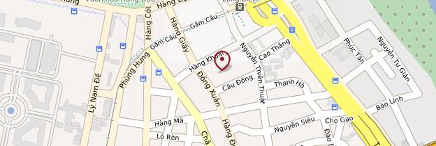 Carte Marché d'Hanoi - Vietnam