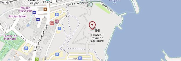 Carte Château royal - Languedoc-Roussillon
