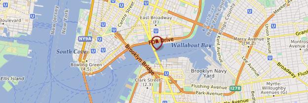 Carte Pont de Manhattan - New York
