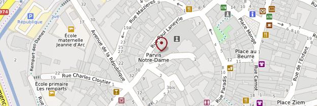 Carte Collégiale Notre-Dame - Bourgogne