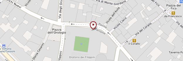 Carte Chiesa Nuova (Santa Maria in Vallicella) - Rome