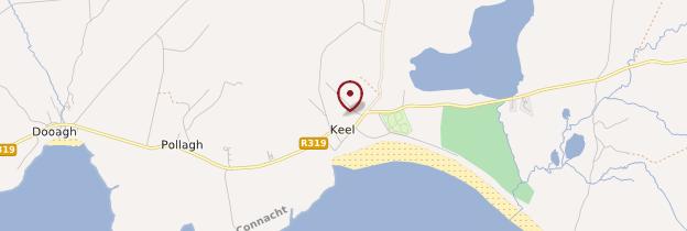 Carte Keel - Irlande