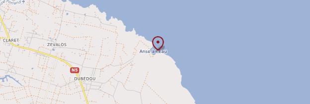 Carte Anse-à-l'Eau - Guadeloupe