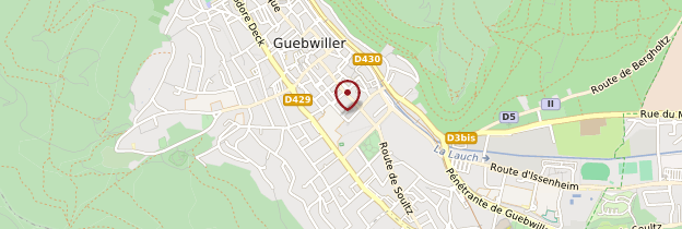 Carte Guebwiller - Alsace
