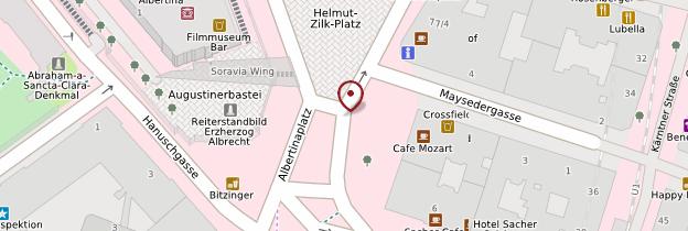 Carte Albertinaplatz - Vienne