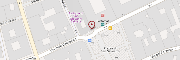 Carte Basilica San Silvestro in Capite - Rome