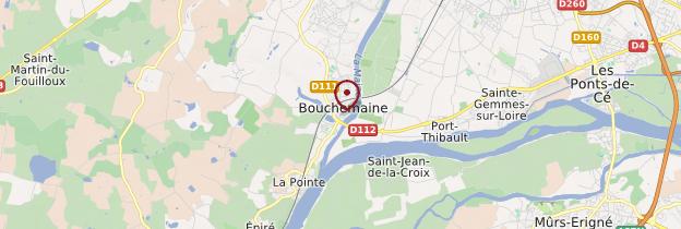 Carte Bouchemaine - Pays de la Loire