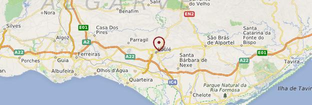 Carte Loulé - Portugal