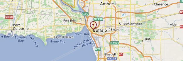 Carte Ville Buffalo.Buffalo New York State Guide Et Photos Etats Unis