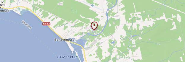 Carte Bonaventure - Québec