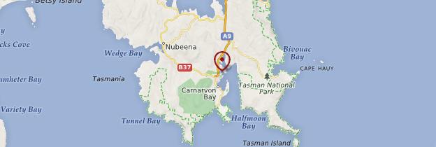 Carte Port Arthur - Tasmanie