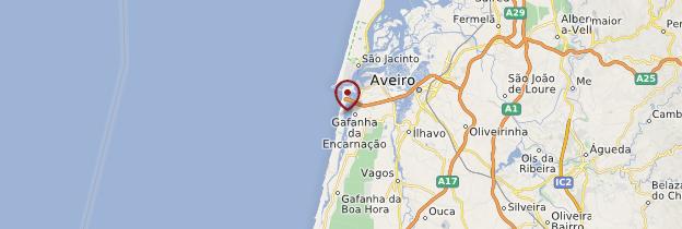 Carte Costa Nova - Portugal