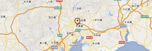 Carte Yangdi - Chine
