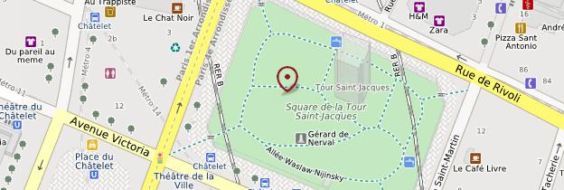 Carte Square Saint-Jacques - Paris