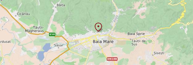Carte Baia Mare - Roumanie