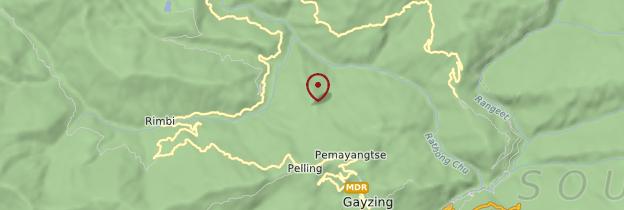 Carte Pelling - Sikkim