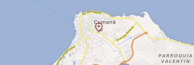 Carte Cumaná - Venezuela