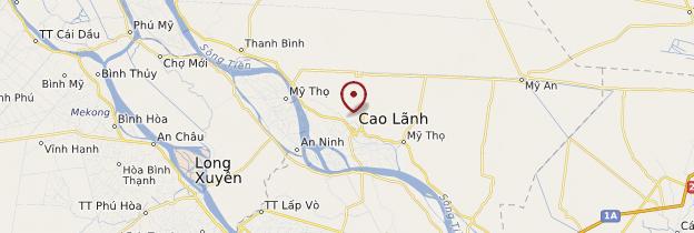 Carte Cao Lãnh - Vietnam