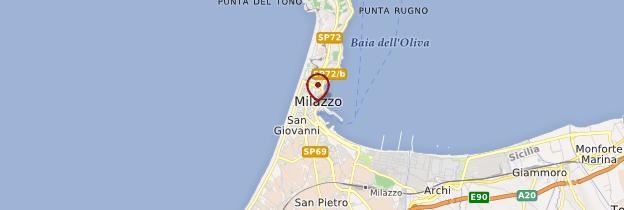 Carte Milazzo - Sicile
