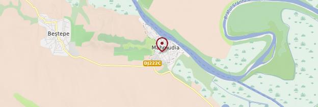 Carte Mahmudia - Roumanie