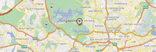 Carte Jardins du Baume du Tigre - Singapour