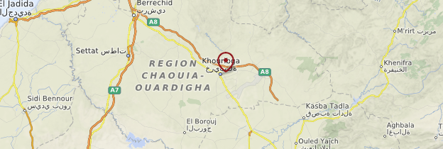 Khouribga Nord du Maroc Guide et photos Maroc Routardcom