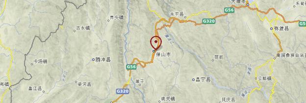 Carte Baoshan - Chine