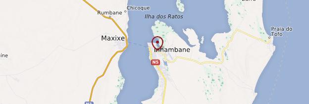 Carte Inhambane - Mozambique