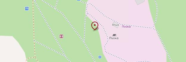 Carte Colline de la Pnyx - Athènes