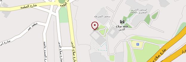 Carte Mosquée Mohammed-Ali - Égypte