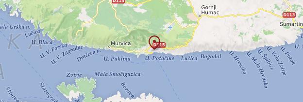 Carte Bol - Croatie