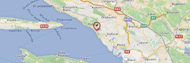 Carte Croatie Gradac.Gradac Sud De La Dalmatie Guide Et Photos Croatie