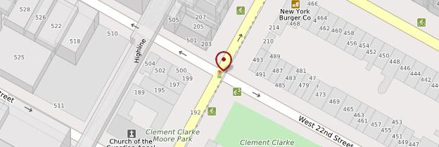 Carte Empire Diner - New York
