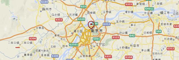Carte Nanjing - Chine